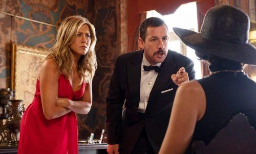 Murder Mystery: la comedy tinta di giallo con Adam Sandler e Jennifer Aniston